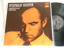 PROKOFIEV & RACHMANINOV Piano Concerto 1 SVIATOSLAV RICHTER Melodiya USSR LP