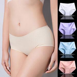 Women's Seamless Ultra Thin Briefs Panties Hipster Underwear Lingerie Underpant*