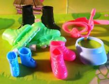 Lot of Barbie Shoes - Roller Skates, boots, Sneakers and more Lot A
