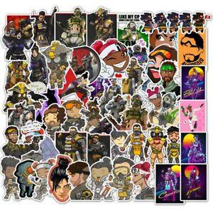 50 Apex Legends Game Sticker Lot Vinyl Laptop Skateboard Wall Car Kids Free Ship