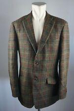 Harris Tweed vintage Sakko jacket Blazer Schurwolle Gr. Eur 50 40 Long Trend