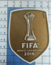FIFA Patch badge foot World champions club les maillots du Real de Madrid 16