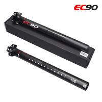 EC90 Carbon Fiber MTB Road Bike 27.2 30.8 31.6mm Bike Seat Tube Bike Seatpost