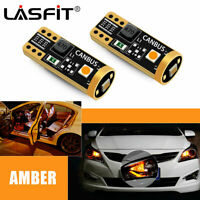 LED Front Side Marker Light Bulbs Amber 168 192 194 T10 for Ford F-150 2004-2020
