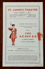 The Seagull by Anton Tchekov,  St. James Theatre Programme 1940's