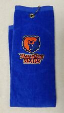 MORGAN STATE UNIVERSITY - Bears Golf or Car Towel (Plush velour) - Embroidered