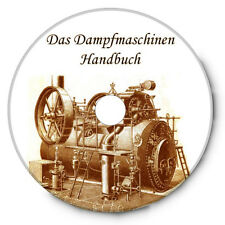 """Dampfmaschinen """"Handbuch"""" 2000 Abbildungen - 600 Seiten auf CD"""