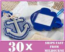 30x *QUALITY* Anchor Luggage Tag Beach Wedding Bridal Favours Bomboniere Party