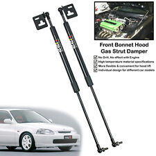 1 Set Front Hood Bonnet Gas Shock Strut Damper For Honda Civic EK EK4 EK9 96-00