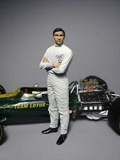 FIGURINE 1/18  JIM  CLARK  A  PEINDRE  VROOM  1/18  UNPAINTED  SCALE  FIGURE