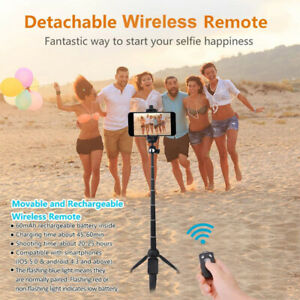 2 in 1 Selfie Stick Universal Handheld Bluetooth Tripod Monopod For All iPhone