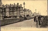 Folkestone England Kent ~1910 Leas Pavilion Longford Hotel Promenade Postcard