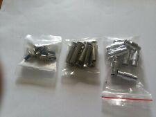 Mission Roller Hockey Axles, Square Bolts and Center Spacers - New In Packages