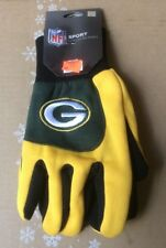 Green Bay Packers Gloves Adult Embroidered 2-Tone Utility Gloves
