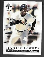 BARRY BONDS   2001 PRIVATE STOCK SILVER #106    SAN FRANCISCO GIANTS