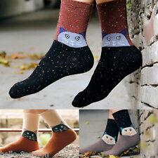 Women Men Emoji Short Socks Children Cotton Creative Funny Cats Socks