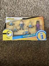 Imaginext Minions 6 Pack The Rise Of Gru Kevin Belle Bottom fisher price (z)