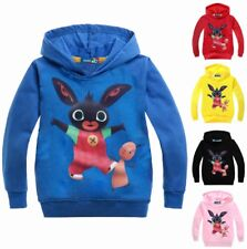 Bing Bunny Hoodie - New & Sealed - 5 Colour Choices - 100% Cotton - 18mth-4 yrs