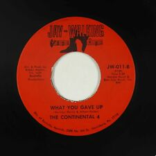 Northern Soul 45 - Continental 4 - What You Gave Up - Jay-Walking - VG+ mp3