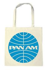 Airline - Pan Am Logo Baumwolltasche - Stofftasche mit Motiv - LOGOSHIRT