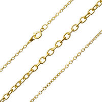 """Oval Link Extension Chain With Ball Sterling Silver 2/"""" Pack of 1 P30//15"""