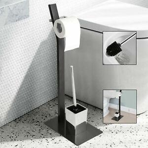Standgarnitur WC Butler Bürstenhalter WC Garnitur stehend Toilettenpapierständer