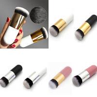Chubby Pier Foundation Brush Flat Make Up Cream Brushes Professional Cosmetic B