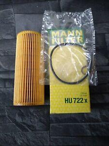 MANN HU722X Oil Filter (U)