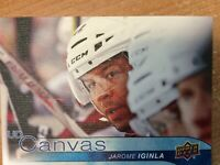 UPPER DECK 2016-2017 SERIES ONE CANVAS JAROME IGINLA HOCKEY CARD  C-25