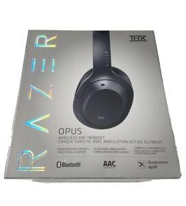 Razer Opus THX Wireless/Wired ANC Headset Active Noise Cancellation Black 3.5MM