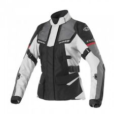 CLOVER SCOUT 3 LADY WP GIACCA MOTO DONNA TOURING IMPERMEABILE TAGLIA M 1709 N/GR