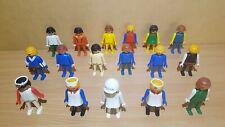 Playmobil Figuras Paquete De Hombre Mujer Vintage 1974 Geobra X17 Nurse doctor de la policía