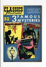 CLASSICS #21  VF/NM - Fantastic HORROR Cover & STORIES - Rare 1949  HRN #62