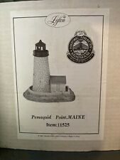 Lefton Lighted Lighthouse Pemaquid Me, Historic American Lighthouses New