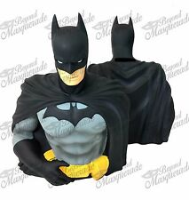 DC Comics Batman PVC Bust Coin Bank 3D Toy Figure Piggy Bank