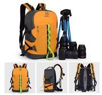 Outdoor Travel DSLR Backpack Rucksack Waterproof Camera Bag For Canon Sony Nikon