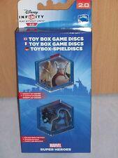 Disney Infinity 2.0:Toybox Bonusmünzen Game Discs - Thor / Ronan - Neu / OVP