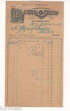 ANTIQUE ILLUSTRATED LETTER / MERINO RODRIGUEZ & HNOS / SAN JUAN PUERTO RICO 1922