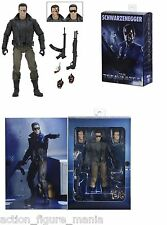 NECA TERMINATOR T-800 ULTIMATE POLICE STATION ASSAULT T-800 7 INCH ACTION FIGURE