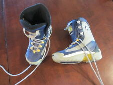 Mens Snowboarding Heelside HS Snowboard Boots 7 eur 40 Blue Thinsulate insulated
