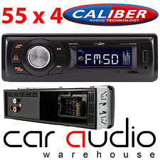 Caliber RMD022 55x4 W Mechless Super Slim SD USB AUX Car Stereo FM Radio Player