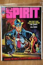 THE SPIRIT #1 First Issue! Will Eisner! Warren Comic Magazine