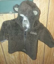 Brown bear sherpa Cabela's infant coat.Size 0-3 months.