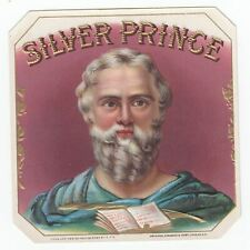1 cigar label Silver Prince outer
