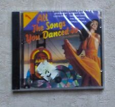 "CD AUDIO / VARIOUS ""ALL THE SONGS YOU DANCE TO VOL.1"" 12T CD COMPILATION  NEUF"