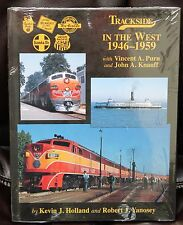 MORNING SUN BOOKS - TRACKSIDE in The WEST 1946-1959 Color # 73 - HC 128 Pages