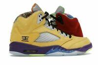 "Nike Air Jordan 5 Retro ""What The"" Size 10 CZ5725-700 Free Shipping Brand New"