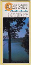 1970's Somerset Kentucky Promotional Tourism Brochure