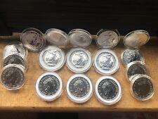 2018 1oz Silver Britannia 1 ounce Silver Bullion Coin unc: