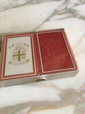 Brown University Crest Playing Cards Double Deck Original Plastic Case